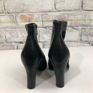 09761d6bdb676f Sam Edelman Shoes - Sam Edelman Shay Contrast Leather Trim Booties